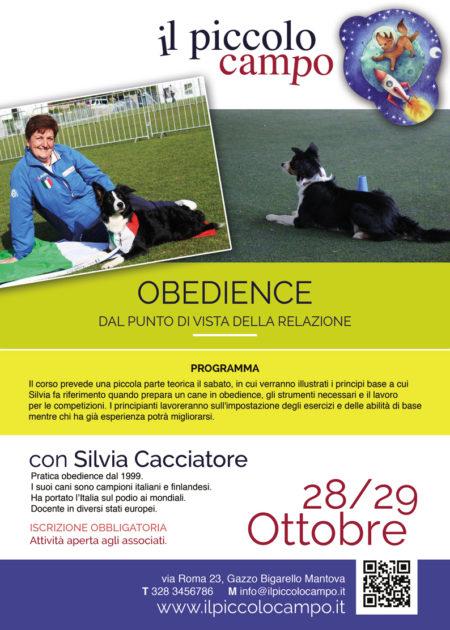 cacciatore-obedience